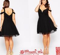short plus size dresses
