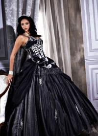 Plus size black and white wedding dresses - PlusLook.eu ...