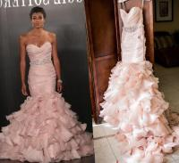 Plus size pink wedding dresses - PlusLook.eu Collection