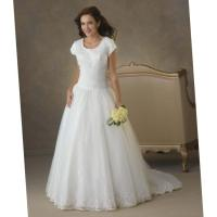 Wedding dresses for plus size mature brides