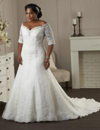 Sexy plus size wedding dress - PlusLook.eu Collection
