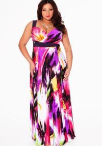 Plus size maxi party dresses - PlusLook.eu Collection