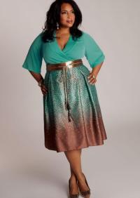 Casual dress plus size - PlusLook.eu Collection
