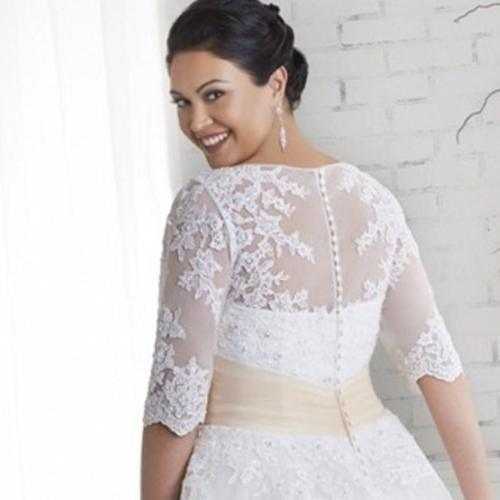 Medium Crop Of Plus Size Vintage Wedding Dresses