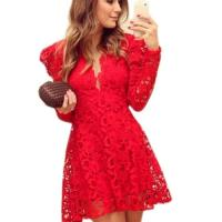 Plus size red club dress - PlusLook.eu Collection