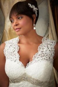 Plus size coloured wedding dresses - PlusLook.eu Collection