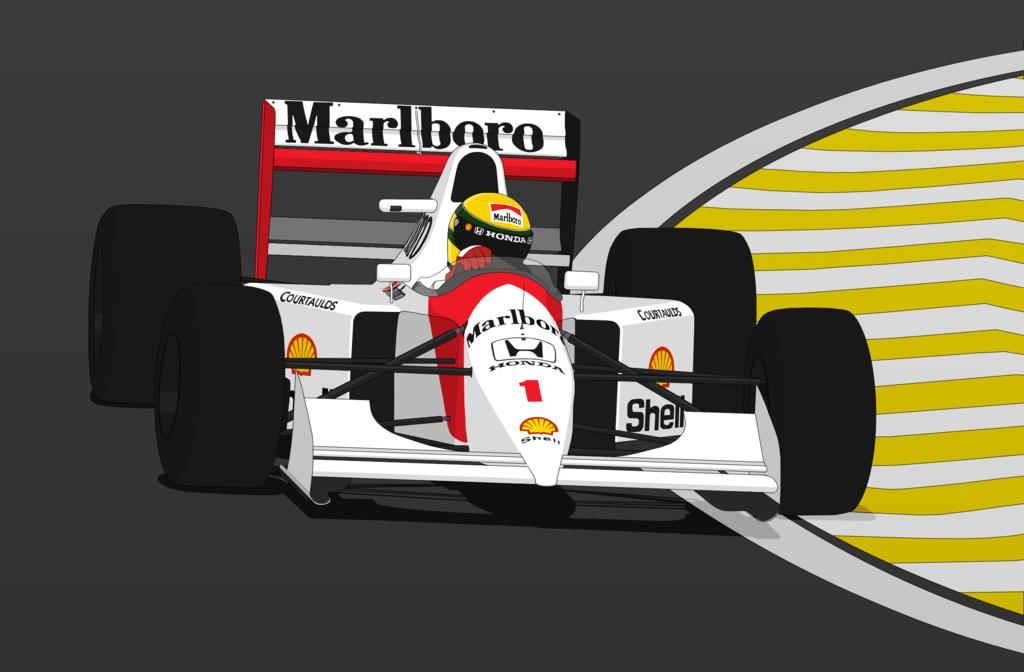 Indy Car Wallpaper Hd Ayrton Senna S Vector Png Transparent Ayrton Senna S