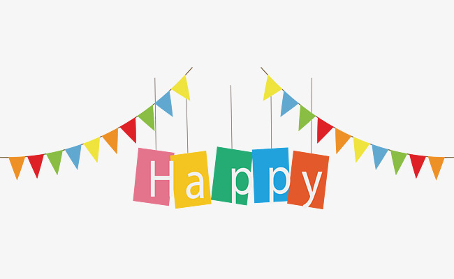 Birthday Flag PNG Transparent Birthday FlagPNG Images PlusPNG