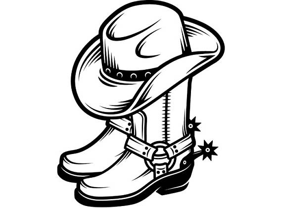 Cowboy Boots With Spurs Png Transparent Cowboy Boots With