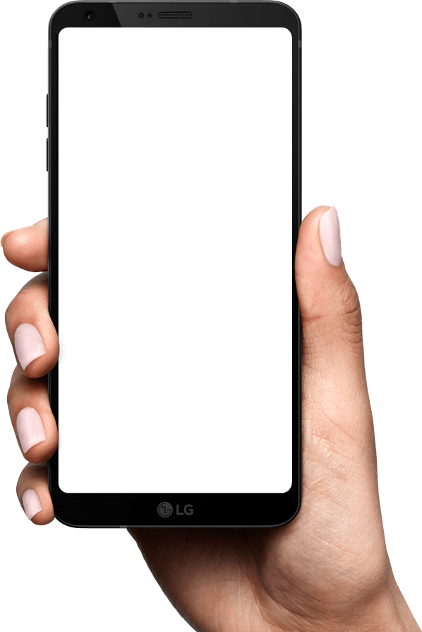 Lg G6 3d Wallpaper Mobile In Hand Png Transparent Mobile In Hand Png Images