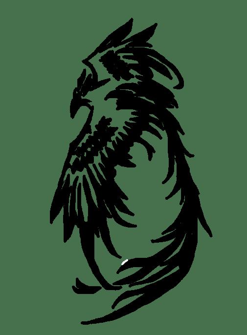 Girl Tattoo Wallpaper Eagle Phoenix Tattoos Png Transparent Phoenix Tattoos Png Images