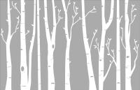Birch Tree Wall Art - Elitflat