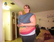 plus size babywearing Ellevil Zara