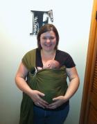 plus size babywearing Maya