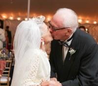 50 Decent Wedding Dresses for Older Brides Over 60 - Plus ...