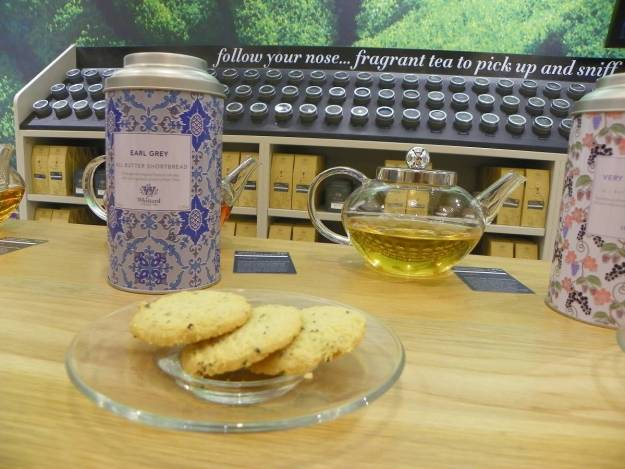 Tea Tasting at Whittards in Grand Central Birmingham