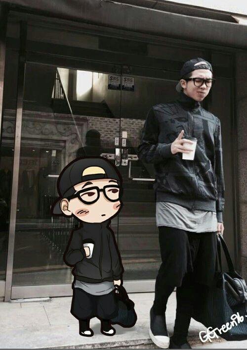 Cute Korean Art Wallpaper Kpop Chibi K Pop Amino