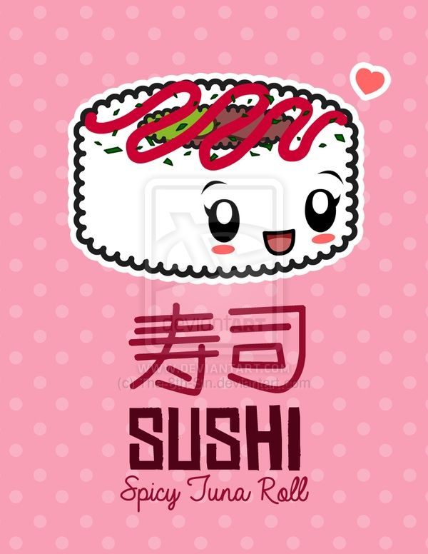 Cute Cartoon Sushi Wallpaper Kawaii Sushi Wallpaper Wiki Anime Amino