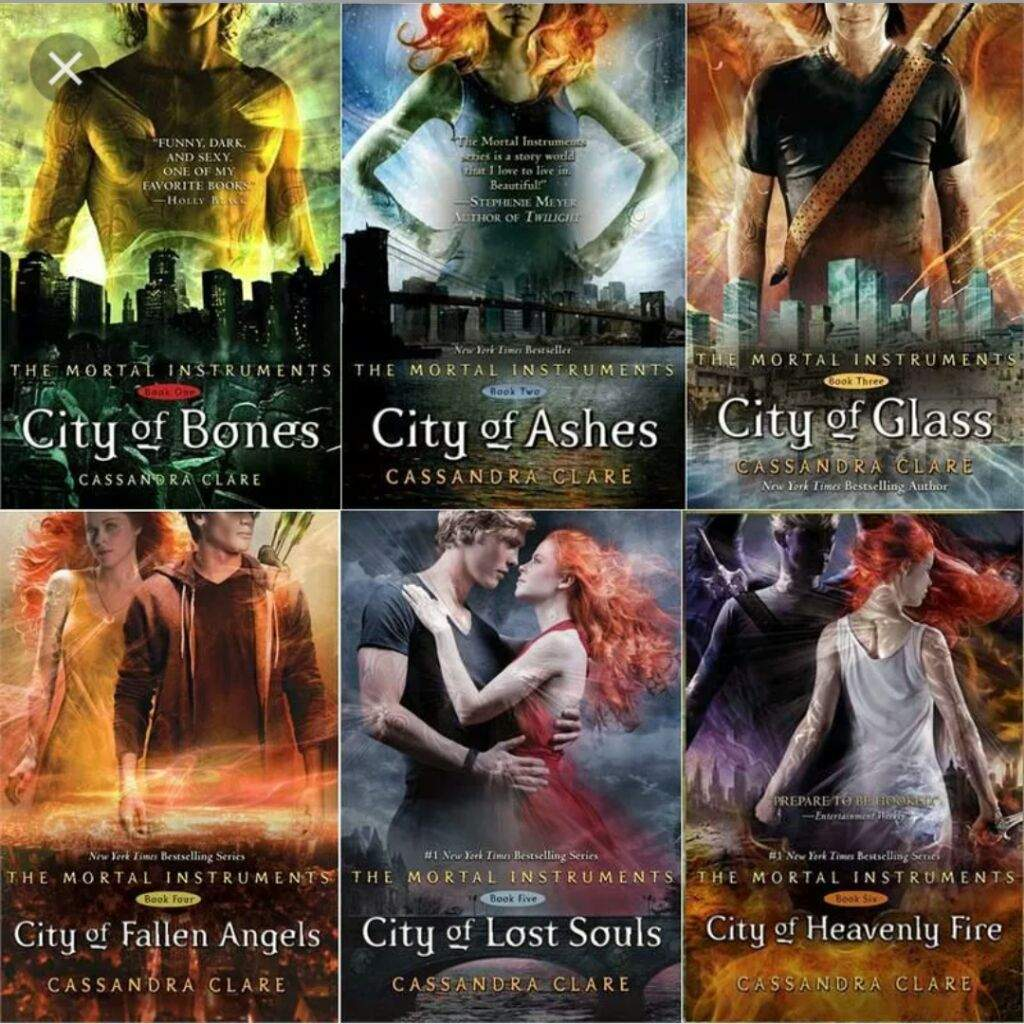 Cassandra Clare Libros In What Order Should I Read Cassandra Clare 39s Shadowhunter