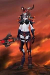 Sexy warrior transmog set | WoW Amino