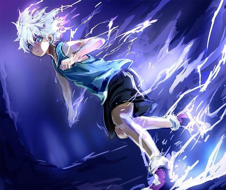 Light Effect Hd Wallpaper Hunter X Hunter Quot Thunderbolt Amp Godspeed Quot Anime Amino