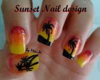 Sunset Nail Design | Nail Art Amino