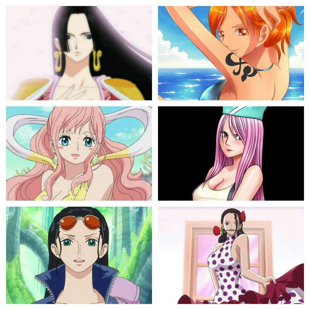 Beautiful One Who Is The Most Beautiful One Piece Female Character One Piece