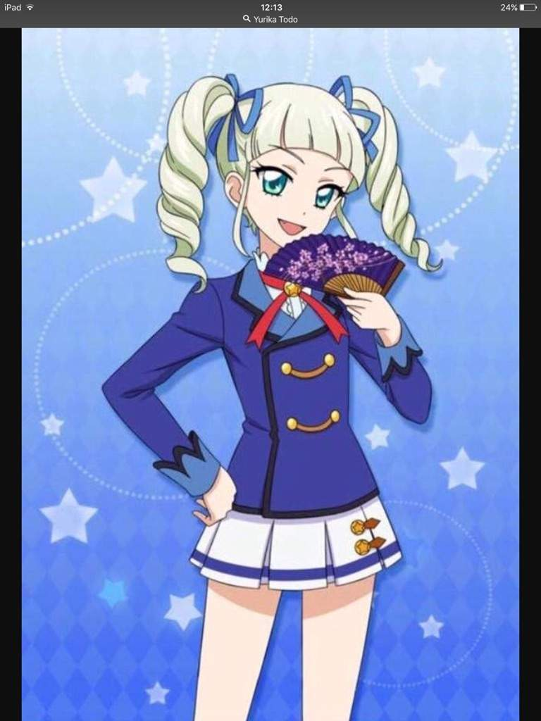 Sone pictures of Yurika in Aikatsu