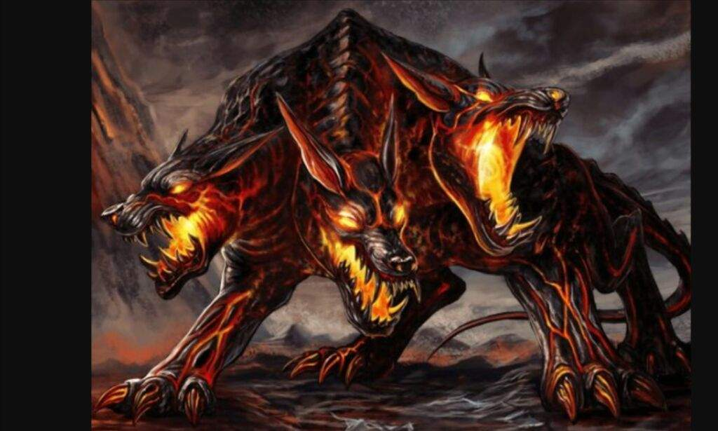 Red Devil Hd Wallpaper Cerberus Mythical Creatures And Beasts Amino