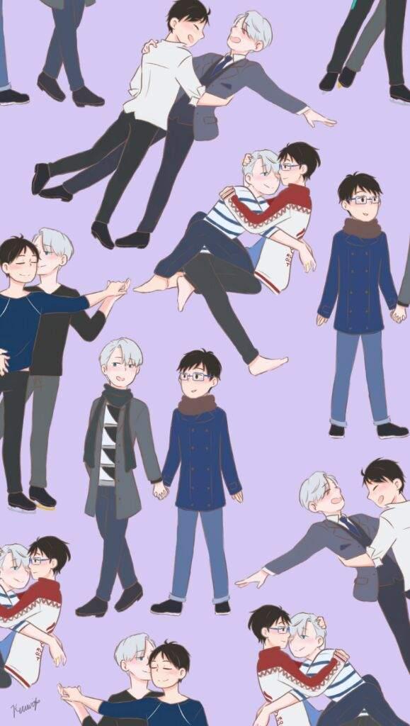 Cute Wallpapers Of Love Hearts Victuuri Wallpaper Part 2 Yuri On Ice Amino