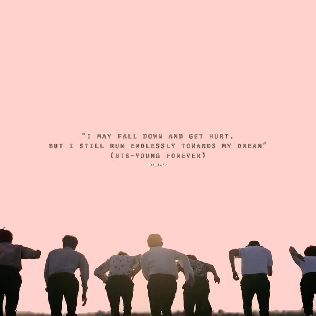 Dream Quotes Wallpaper Inspirational Shits Bts Says Army S Amino