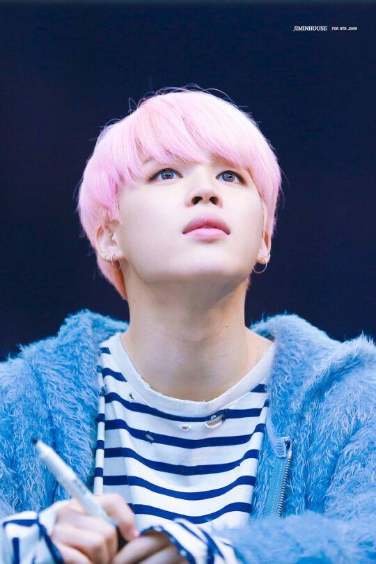 Wallpapers Fofo Cutes Jimin Pink Hair Appreciation Army S Amino