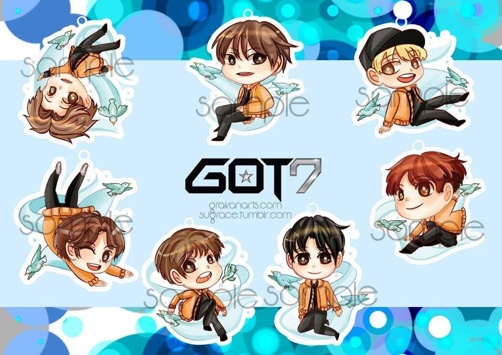 Cute Korean Art Wallpaper Got7 In Anime K Pop Amino