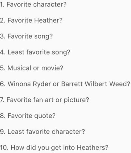 Deservarte Answers Heathers Questions Heathers Amino