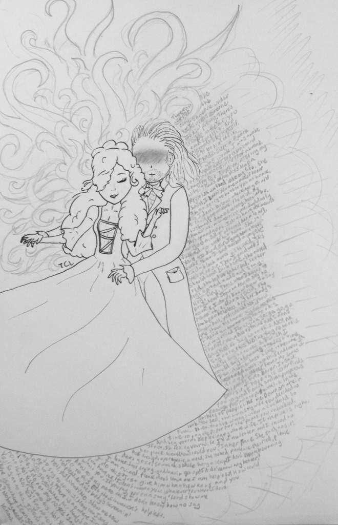 WIP Hamilton Scene Artwork Background Sketches Hamilton Amino - background sketches