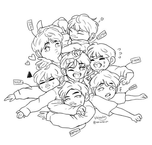 Cute Babies Wallpaper With Tears Bts Fanart Chibi Army S Amino
