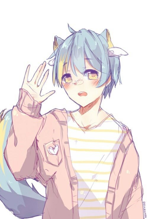 Kitsune Anime Girl Wallpaper Pastel Neko Boy Anime Amino