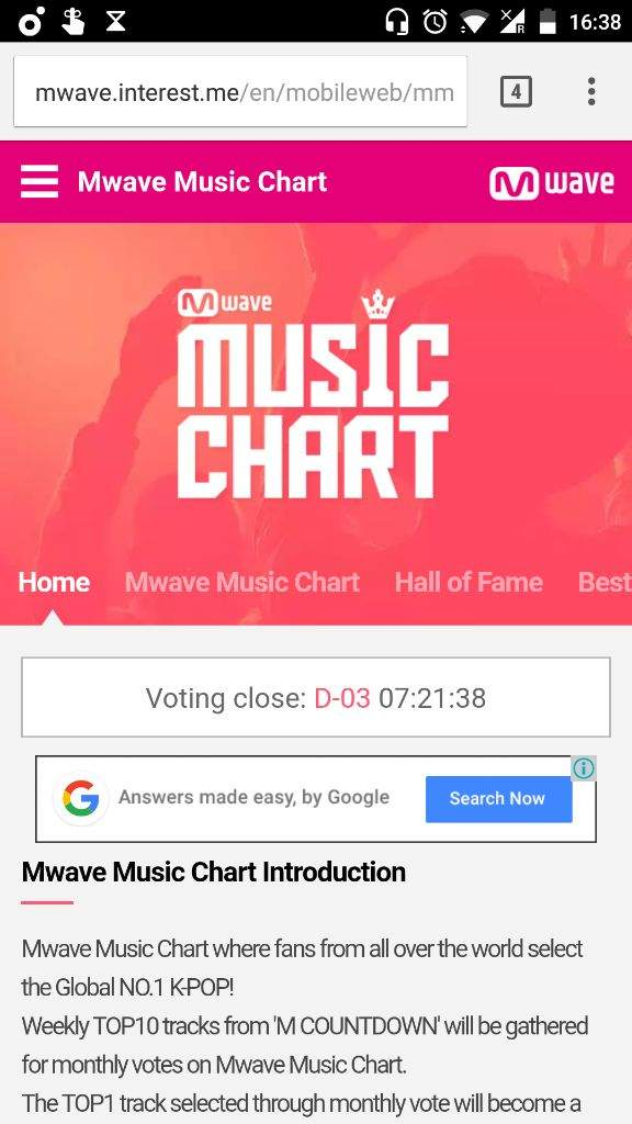How to vote on Mwave Music chart!!! EXO (엑소) Amino - music chart