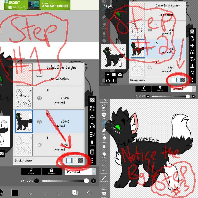 How to make things transparent on ibis paint x Warriors Amino - how to make a picture transparent