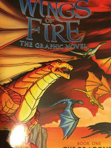 Novel Books Love Oooh New Graphic Novel Wings Of Fire Wof Amino