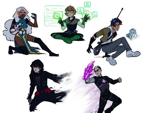 Super Hero AU powers Voltron Amino