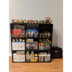 Small Crop Of Video Game Shelf