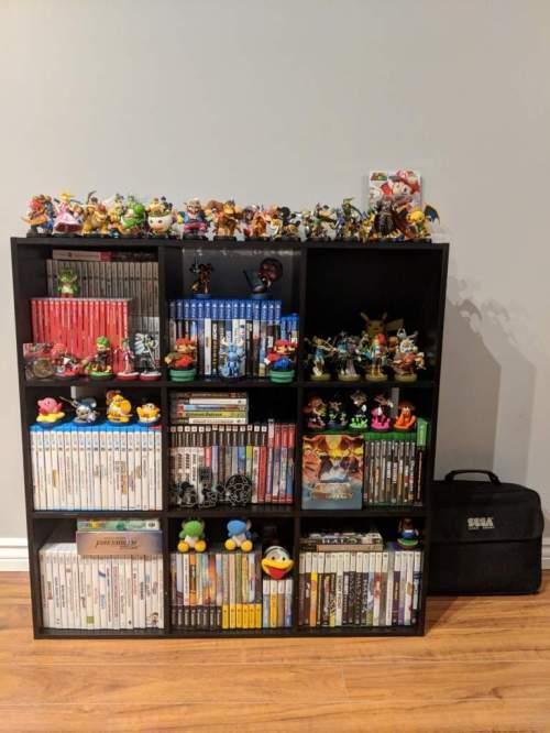 Medium Of Video Game Shelf