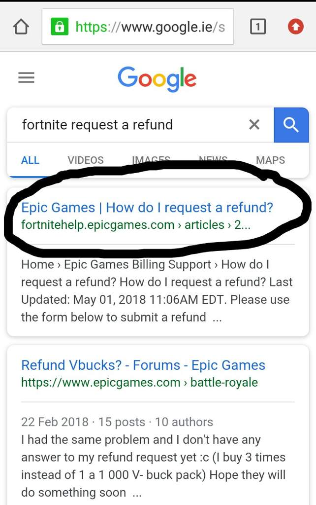 PSA You can refund items online Fortnite Battle Royale Armory Amino