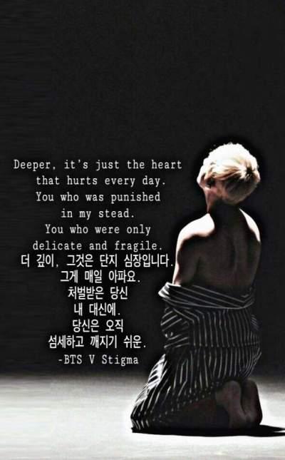 BTS V Stigma wallpaper iphone lyrics | ARMY's Amino