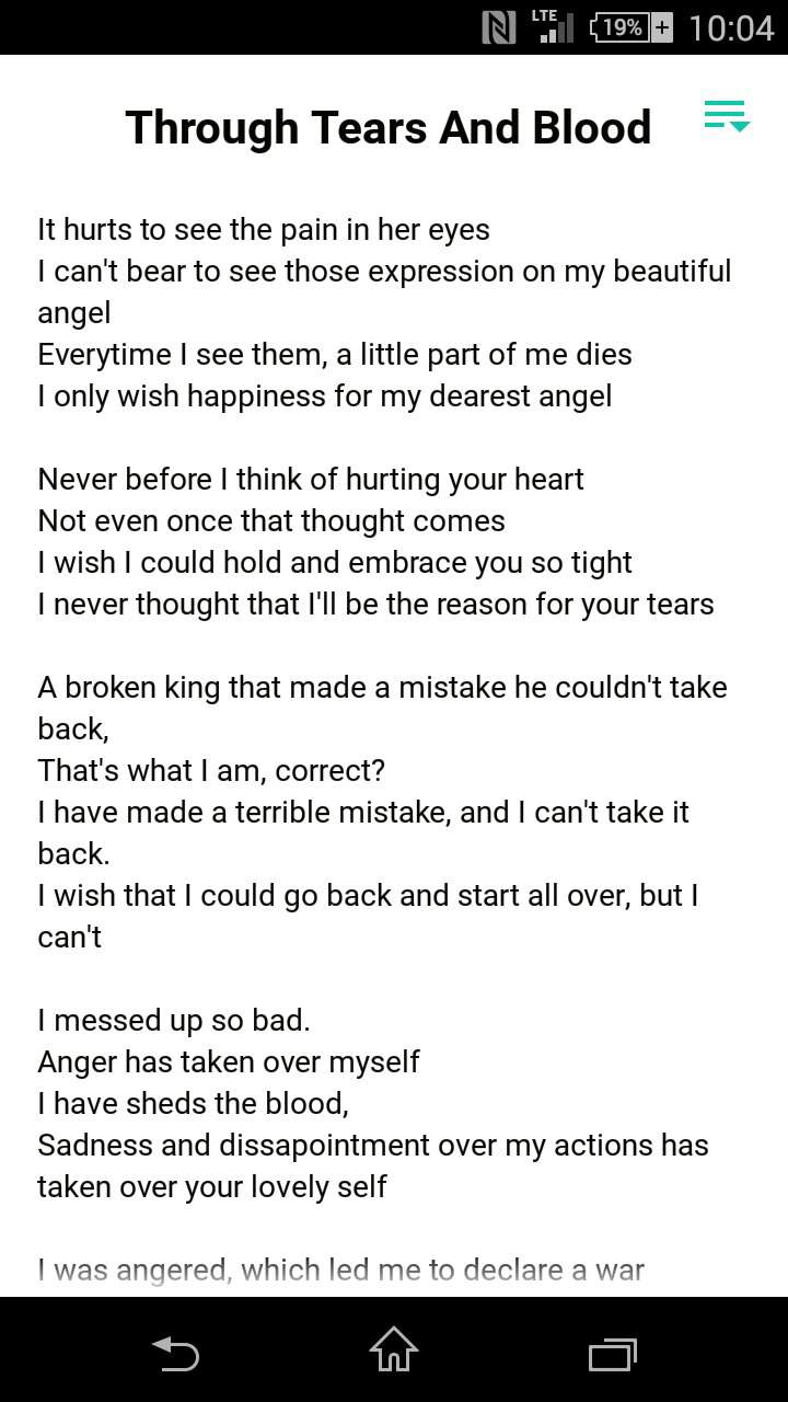 Bad Blood Quotev Through Blood And Tears Asgore And Toriel S Poem