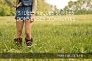 5 IDEES REÇUES SUR LES DONNEUSES D'OVOCYTES