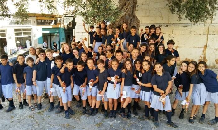 Alumnos de la Pureza