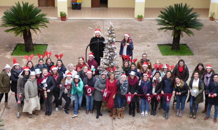 Felicitación Navidad profesores