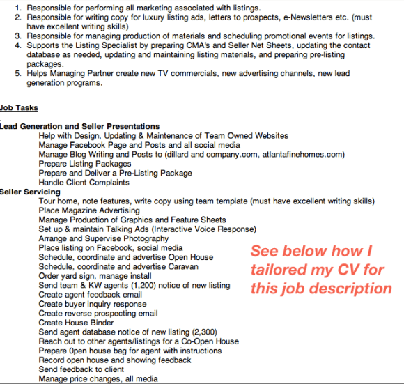 linkedin job application resume and cv for success